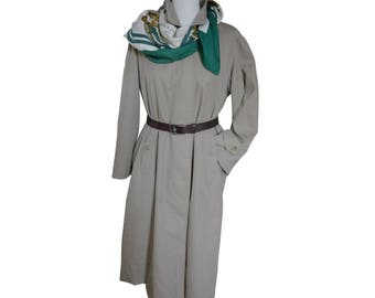 BURBERRYS PROSUM - trench woman with removable lining - size 42FR