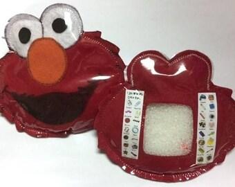 Red Monster I Spy Bag