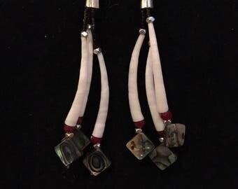 Dentalium Earrings