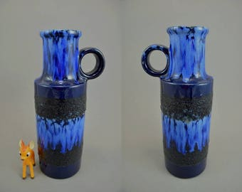 Vintage vase / Scheurich / 401 28 | West Germany | WGP | 60s