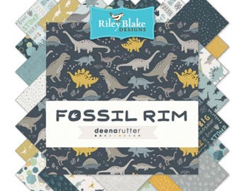 "10"" Stacker Fossil Rim by Deena Rutter  for Riley Blake Designs-42 Fabrics"