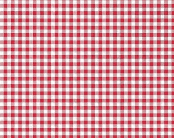 1/2 Yard Bake Sale 2 by Lori Holt of Bee in My Bonnet for Riley Blake Designs-6988 Red