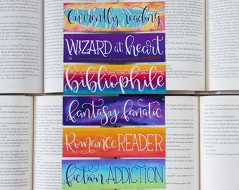 Book Lover's Collection - Set of 6 Bookmarks