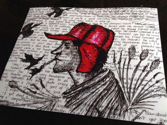 holden caulfield - the catcher in the rye essay Holden caulfield, the 17-year-old narrator and protagonist of the novel, speaks to the reader directly from a mental hospital or sanitarium in southern californ.
