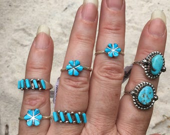 Turquoise ring/7