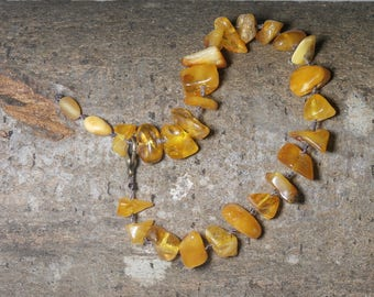 B2 - Baltic amber bracelet, mixed