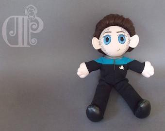 Jadzia Dax Star Trek Deep Space 9 Plush Doll Plushie Toy [READY TO SHIP]