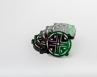 Acrylic Aim Tokens