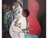 ON SALE Azul de la Musica by Jess Tobin Art