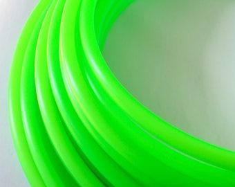 UV Lime Green Polypro Hoop