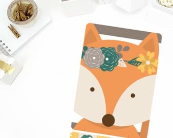 Foxy Sticker Mini Binder Cover! Perfect for the Mini or Standard Binders!