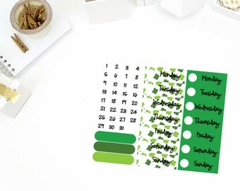 Get Lucky Date Cover Up Stickers! Perfect for your Erin Condren Life Planner, calendar, Paper Plum, Filofax!