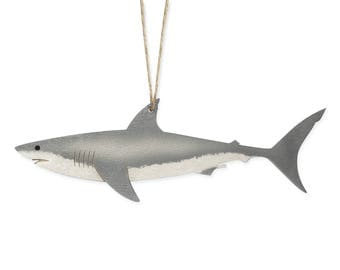 Great White Shark Christmas Ornament