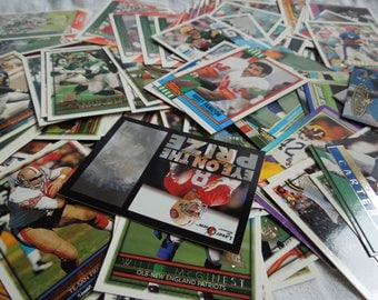 90s Huge Lot of Football Trading Cards Assorted Teams