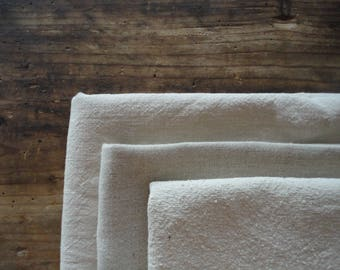 HEMP hand or bath towel, handmade from light or heavy hemp