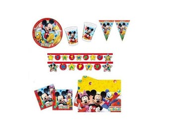 Mickey Mouse party kits-n17-Christmas Mickey Mouse