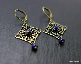 Mini lace earrings, earrings