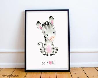 Printable Baby Animals Nursery Prints, Kids Art Prints, Digital Nursery Art, Baby Prints, Nursery Animal Prints, Printable Kids, Nursery Set