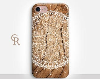 Mandala iPhone 7 Case For iPhone 8 iPhone 8 Plus - iPhone X - iPhone 7 Plus - iPhone 6 - iPhone 6S - iPhone SE - Samsung S8 - iPhone 5
