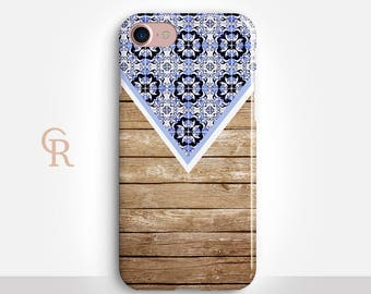 Boho iPhone X Case For iPhone 8 iPhone 8 Plus - iPhone X - iPhone 7 Plus - iPhone 6 - iPhone 6S - iPhone SE - Samsung S8 - iPhone 5