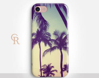 Palm Trees Phone Case For iPhone 8 iPhone 8 Plus iPhone X Phone 7 Plus iPhone 6 iPhone 6S  iPhone SE Samsung S8 iPhone 5 Samsung S7 Edge