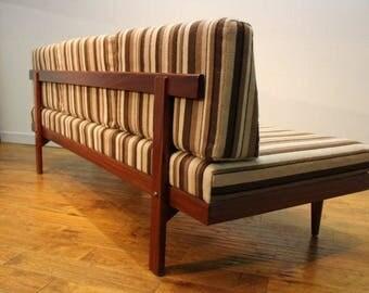 Mid Century Danish Sofa Bed.