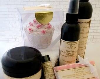 Cherry Blossom Bath and Body Gift Set