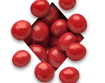 European Pastel Red Cherries (Cherry Chocolate Balls with Sweet Cherry Center)