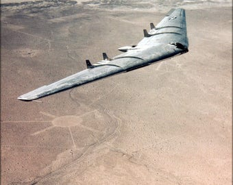 Poster, Many Sizes Available; Northrop Yb-49 Flying Wing Prototype Bomber 1948