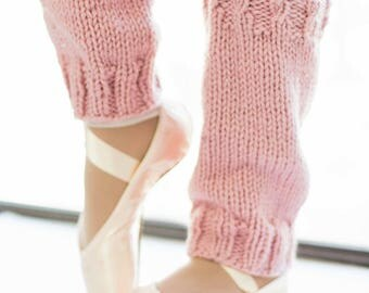 Women's Leg Warmers – Adult Leg Warmers – Yoga Lover Gift – Yoga Leg Warmers – Cozy Legwarmers – Pink Leg Warmers – Slouchy Legwarmers