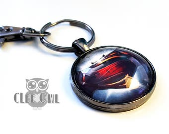 Superman V Batman Keychain - Justice League - Handmade