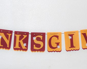 Thanksgiving decor, Thanksgiving banner, Thanksgiving
