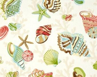 Sea Shell Valance / Custom Boutique Window treatment Curtain / Bathroom