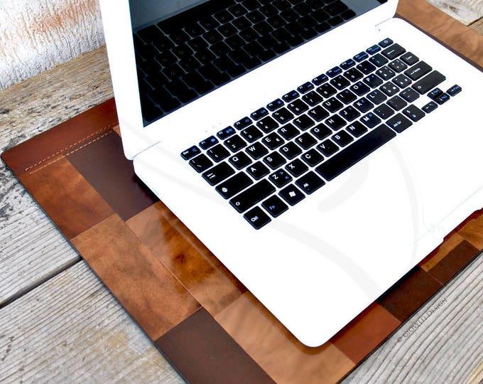 Italian Leather Desk Pad, Laptop Pad