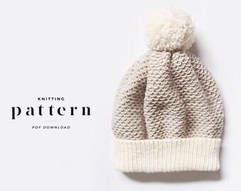 Knitting Pattern / Beanie Pattern / Knitting Pattern Hat / Knit Beanie Pattern / Hat Pattern