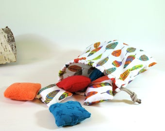 14 cushions sensory inspired Montessori for baby from 15 months