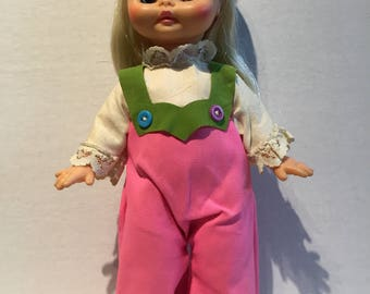 Vintage 1969 Horsman Teenie Bopper Doll