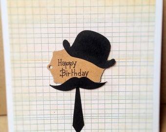 Hand made mens birthday card