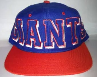 Vintage New York giants Supreme snapback hat cap rare 90s NFL football eli manning