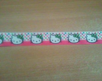 Hello Kitty (by the yard) 22mm Ribbon