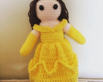 Belle Crochet Doll