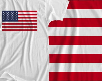 United States - Flag - Iron On Transfer