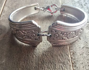 Kids Spoon Bracelet | Fortune| Fortune Bracelet| Silverware Jewelry|  Silver Bracelet| Silverware bracelet | Spoon Jewelry, child bracelet