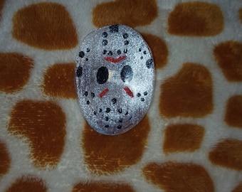 Jason Voorhees (Friday the 13th) Hockey Mask Pin Badge