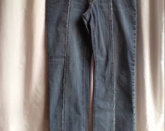 Groovy Frayed Express Jeans 13/14