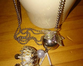 PRETTY DOLL STAINLESS STEEL NECKLACE GIFT