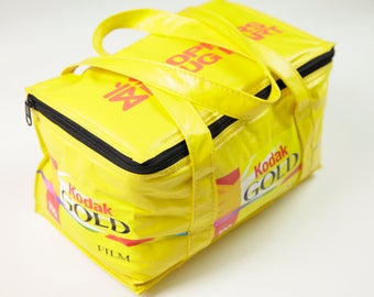 Vintage Kodak Gold x Shoppers Drug Mart Yellow Cooler Lunch Bag
