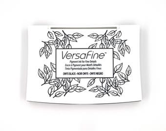 Ink Pad, Ink Pad for Stamping, Pigment Ink, Pigment Ink Pad, VersaFine Ink, Stamp Ink, Stamp Ink Pad, Non Toxic Ink Pad, Rubber Stamp Ink