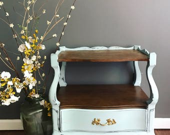 French Provincial Nightstand - Side Table