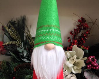 Swedish Gnome, Scandinavian Tomte, Christmas Gnome, Handmade Gnomes, Nisse, Medium